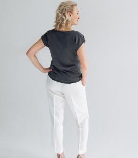 Silk/cotton top