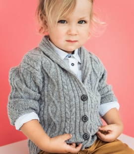 Kids lambs wool sweater