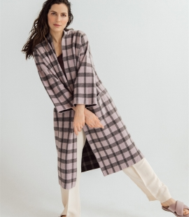Cashmere / wool coat with pockets