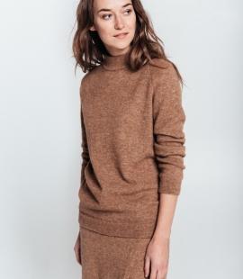 Alpaca wool skirt