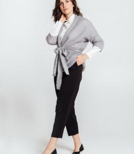 Short mohair cardigan