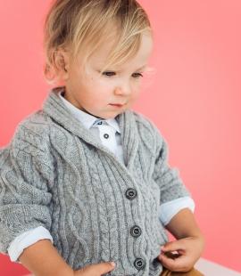 Jēra vilnas bērnu jaka