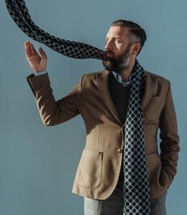 Pure merino plain knitting shawl, Pattern 1