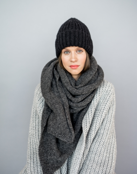 Alpaca wool Fisherman hat