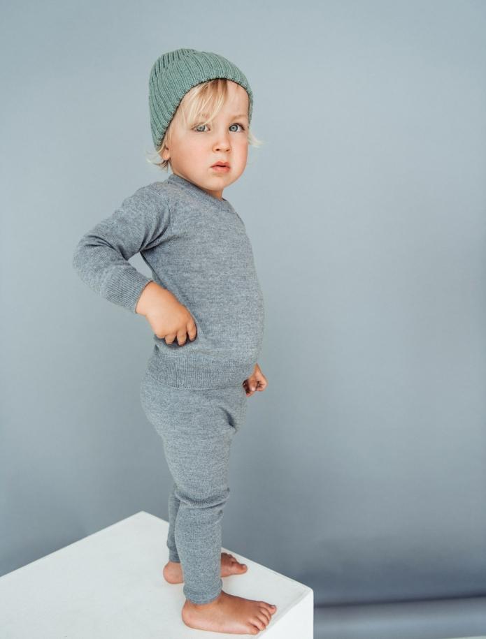 Kids merino wool sweater. Photo Nr. 2