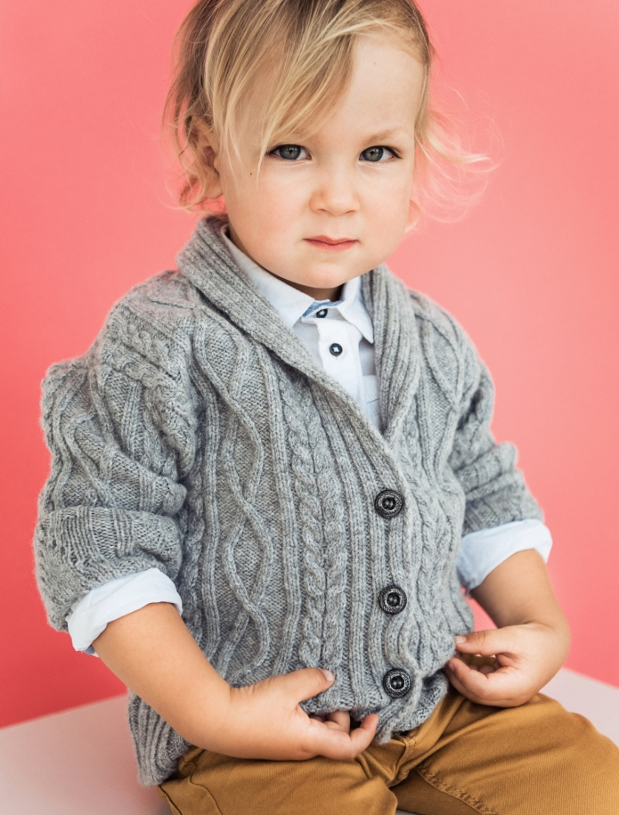 Kids lambs wool sweater. Photo Nr. 2
