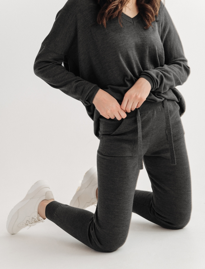 Merino trousers with pockets. Photo Nr. 7