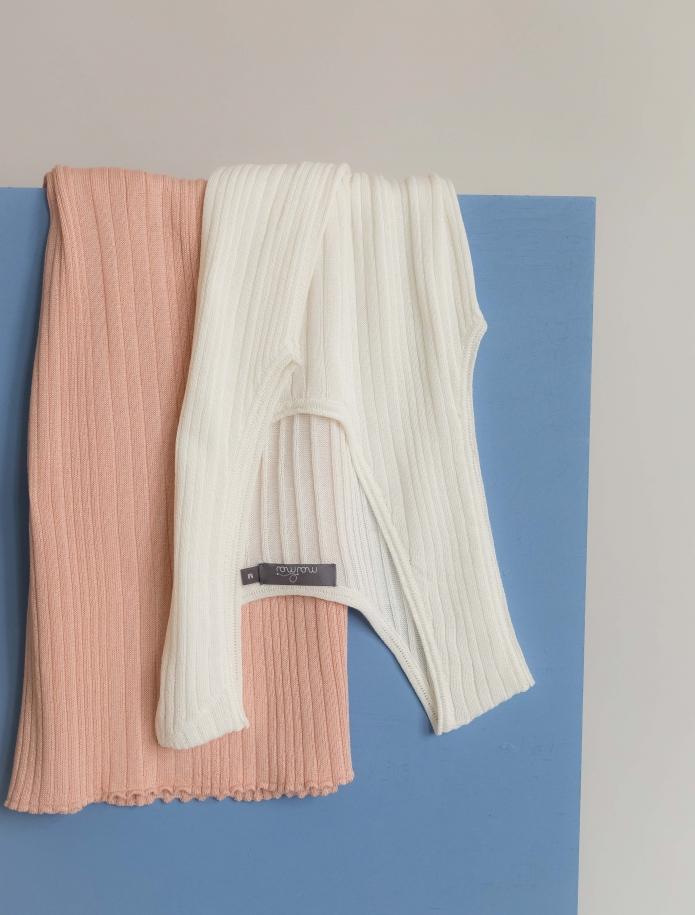 Sleeveless silk and cotton top. Photo Nr. 4