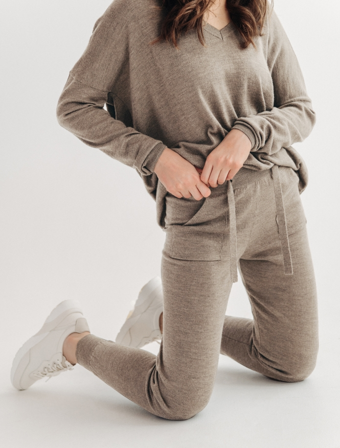 Merino trousers with pockets. Photo Nr. 8