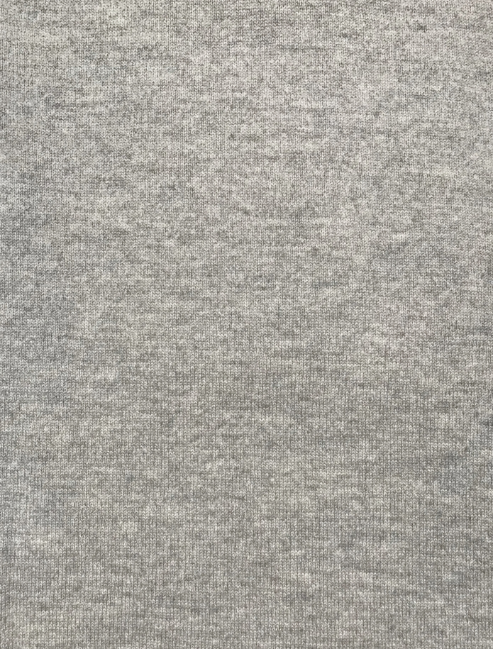 Classic cashmere and merino blend round neck sweater. Photo Nr. 9