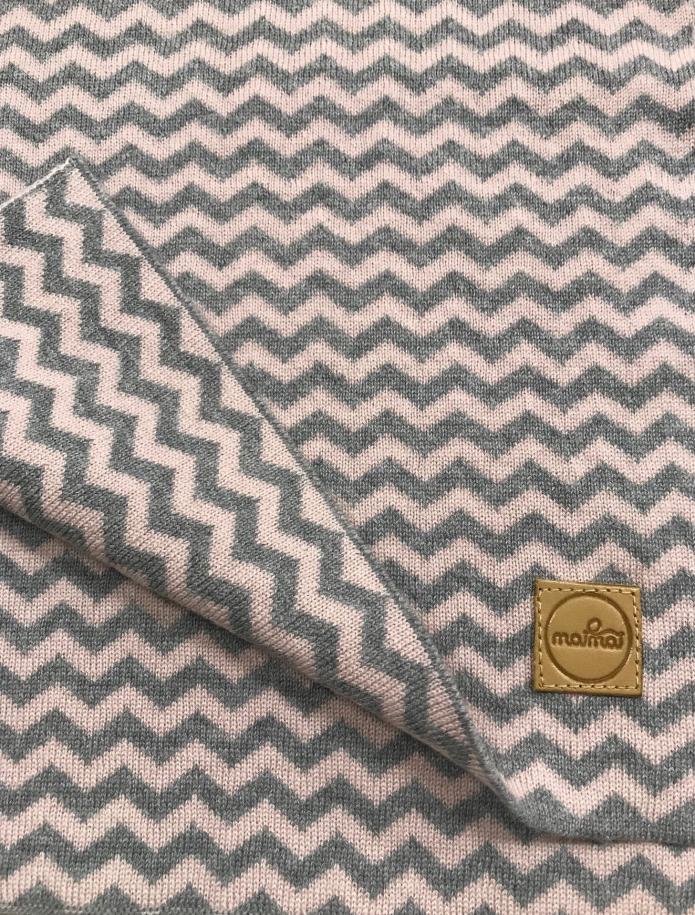Pure merino plain knitting shawl, Pattern 2. Photo Nr. 5