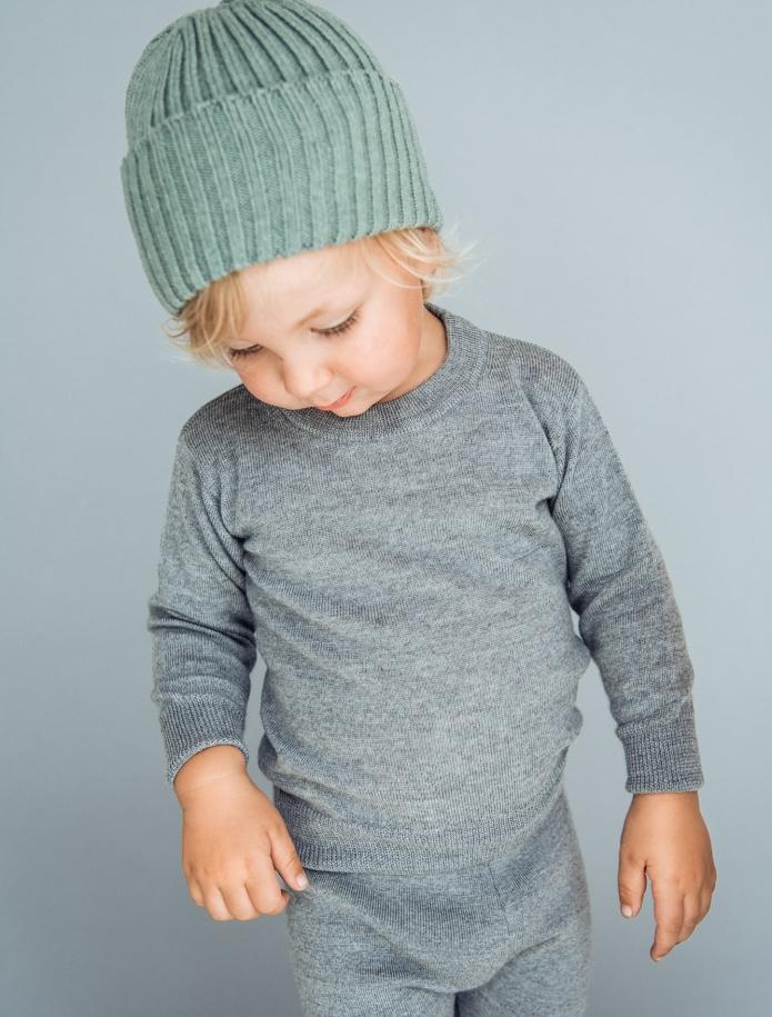 Kids merino wool sweater. Photo Nr. 4
