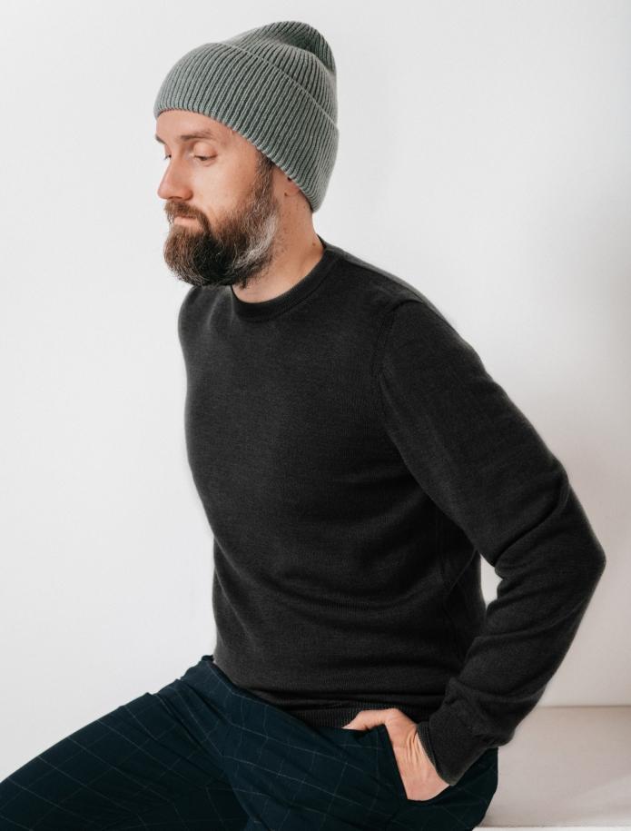 Merino wool sweater. Photo Nr. 7