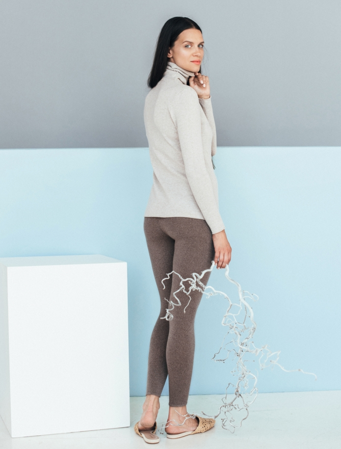 Merino wool leggings. Photo Nr. 5