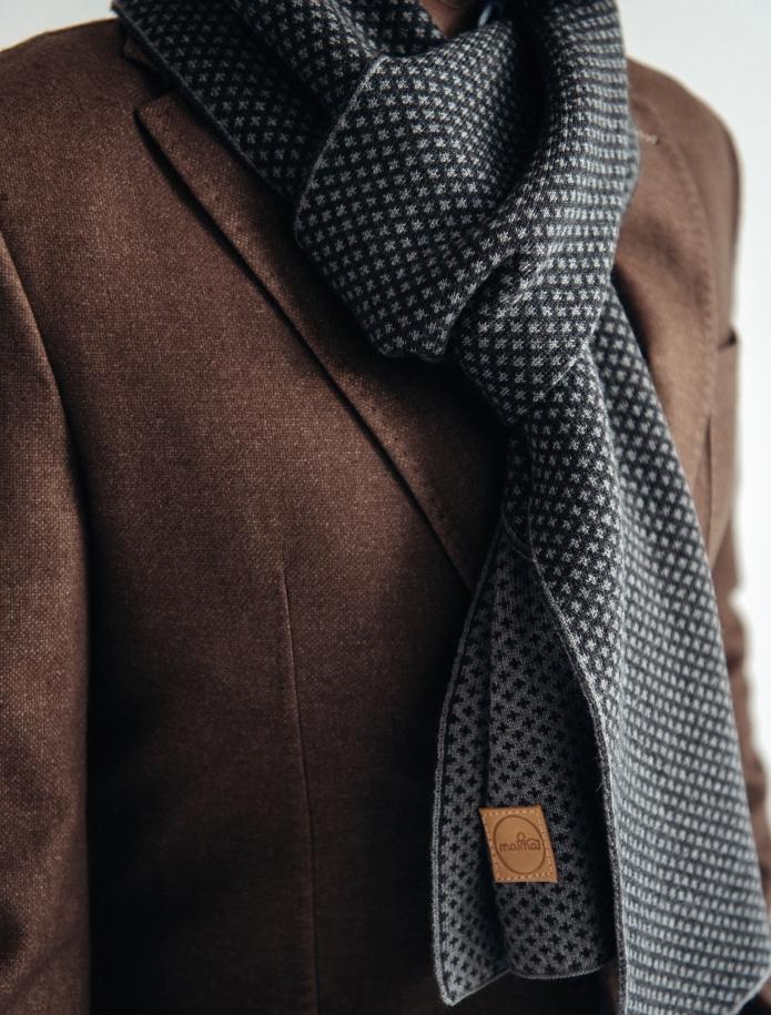 Pure merino plain knitting shawl, Pattern 3. Photo Nr. 3