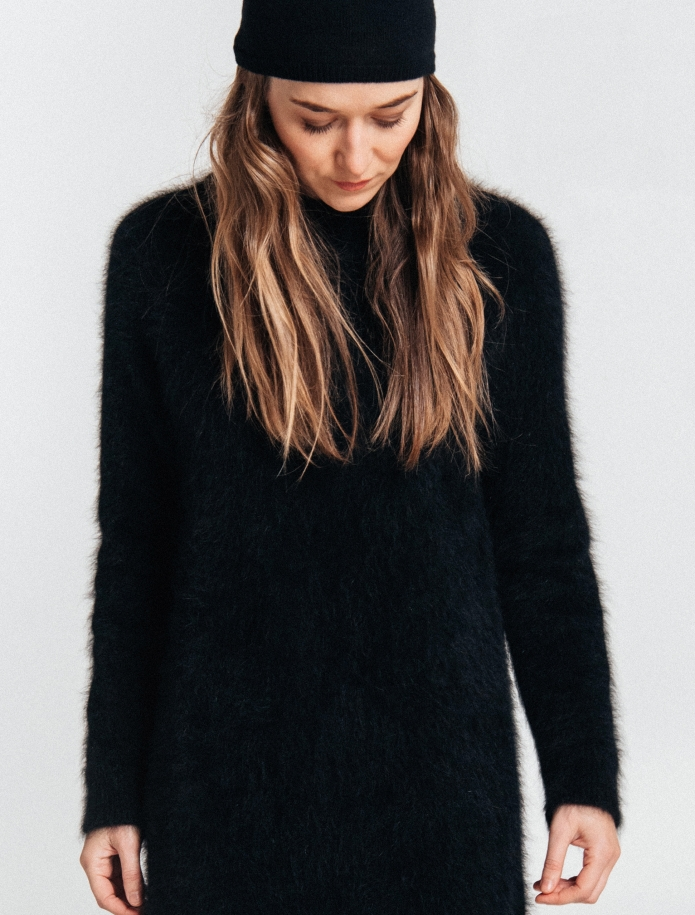 Klasisks angoras vilnas džemperis. Attēls Nr. 9