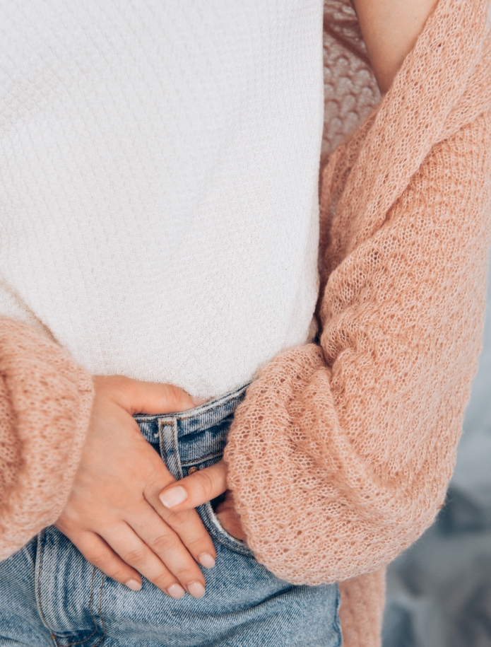 Midi mohair wide sleeve cardigan. Photo Nr. 9