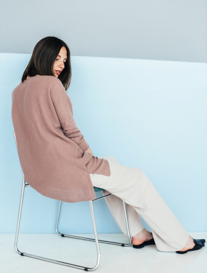 Oversized cashmere blend sweater. Photo Nr. 1