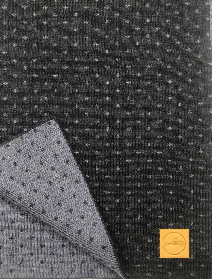 Pure merino plain knitting shawl, Pattern 3. Photo Nr. 5