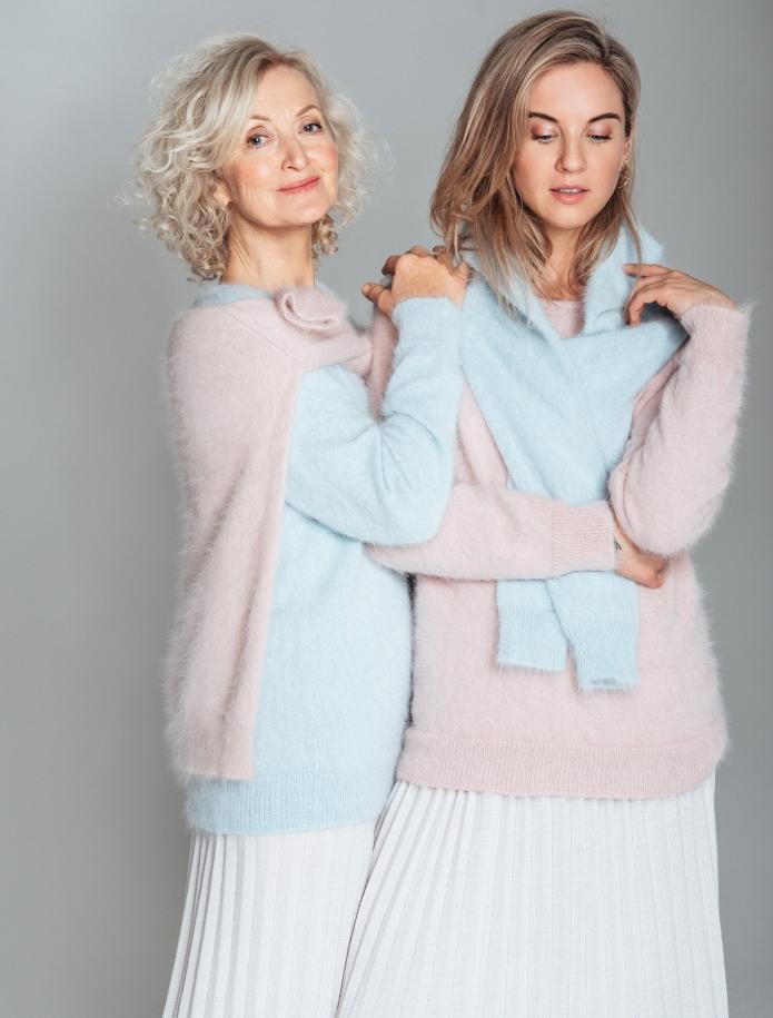 Klasisks angoras vilnas džemperis. Attēls Nr. 2