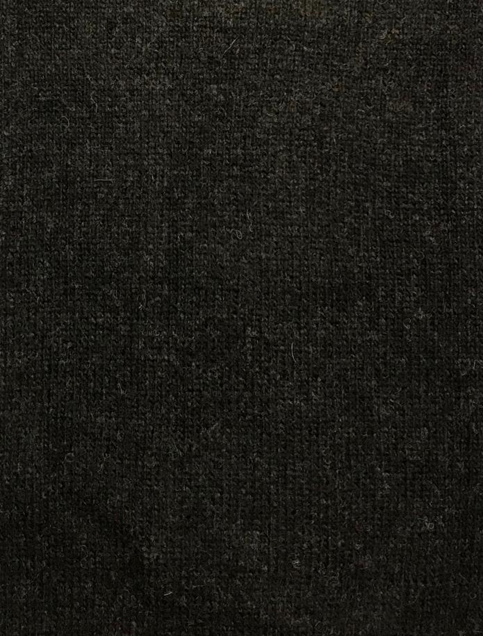 Midi length alpaca wool cardigan. Photo Nr. 6